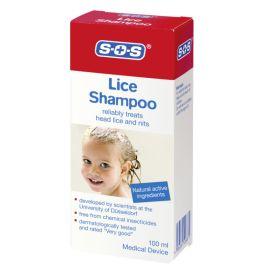 SOS šampūnas nuo utėlių ir glindų