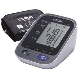 Omron M6 AC kraujospūdžio matuoklis (pilnai automatinis ant žasto su adapteriu)