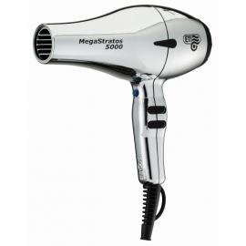 Profesionalus plaukų džiovintuvas ETI Mega Stratos 5000 Natural Chrome