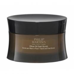 Philip Martin's Olive Oil Salt Scrub rankų ir kojų šveitiklis