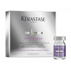 Kerastase SPECIFIQUE Intense Long-Lasting Anti-Dandruff ampulės