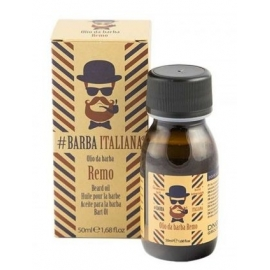 Barzdos plaukų aliejus Barba Italiana Beard Oil Remo BI07770, 50 ml