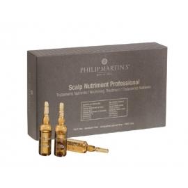 Ampulė, skatinanti plaukų augimą, Philip Martin's Scalp Nutriment Professional PM858, 1 vnt