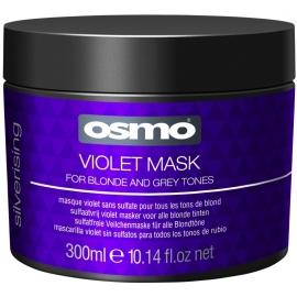 Geltonumą neutralizuojanti kaukė Osmo Silverising Violet Mask OS064089, 300 ml