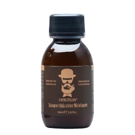 Šampūnas plaukams nuo pleiskanų Barba Italiana Tri - Action Michelangelo, BI007S, 100 ml