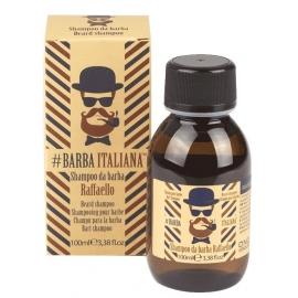 Barzdos plaukų šampūnas Barba Italiana Beard Shampoo Raffaello, BI0070, 100 ml