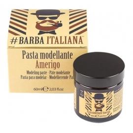 Barzdos plaukų modeliavimo pasta Barba Italiana Modeling Paste Amerigo, BI7, 60 ml