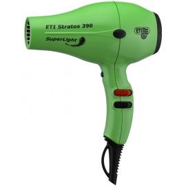 Profesionalus plaukų džiovintuvas ETI Stratos 390 SuperLight Green, lengvas, žalias, 2200 W