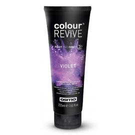 Dažanti, plaukus kondicionuojanti kaukė Osmo Colour Revive Violet OS064106, 225 ml