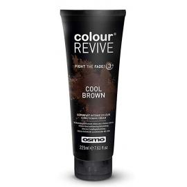 Dažanti, plaukus kondicionuojanti kaukė Osmo Colour Revive Cool Brown OS064107, 225 ml