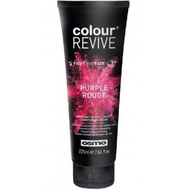 Dažanti, plaukus kondicionuojanti kaukė Osmo Colour Revive Purple Rouge OS064108, 225 ml