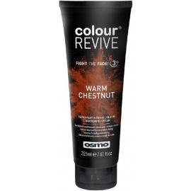 Dažanti, plaukus kondicionuojanti kaukė Osmo Colour Revive Warm Chestnut OS064109, 225 ml