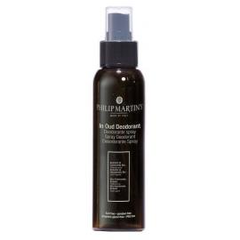 Purškiamas dezodorantas Philip Martin's Deo Spray Oud PM947, tinka visų tipų odai, be aliuminio, 100 ml