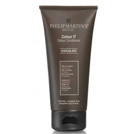 Dažantis kondicionierius plaukams Philip Martin's Colour It Chocolate PM200100, šokolado spalva, 200 ml