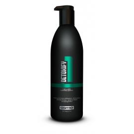 *Giliai plaukus valantis šampūna