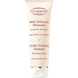 Clarins Gentle Foaming Cleanser Dry Skin veido prausiklis