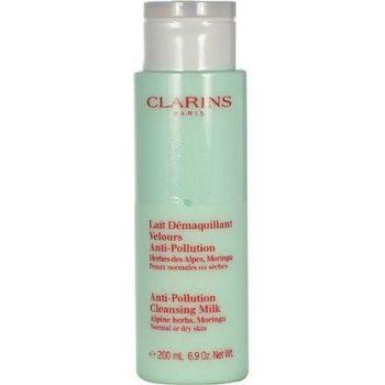 Clarins Anti-Pollution Cleansing Milk With Alpine Herbs valomasis pienelis
