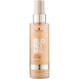 Schwarzkopf Blond Me Shine Elixir blizgesio suteikiantis eliksyras