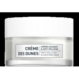 Creme Des Dunes minkštinantis ir nuo taršos apsaugantis jautrios odos kremas