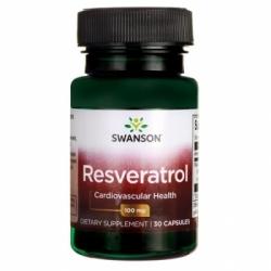 Swanson RESVERATROLIS 100 mg N30 maisto papildas
