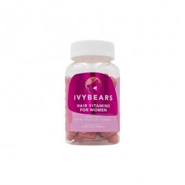 IVYBEARS Hair Vitamins For Women Plaukų augimą padedantys skatinanti maisto papildas moterims