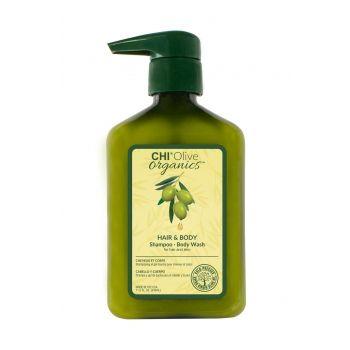 CHI OLIVE ORGANIC šampūnas ir kūno prausiklis