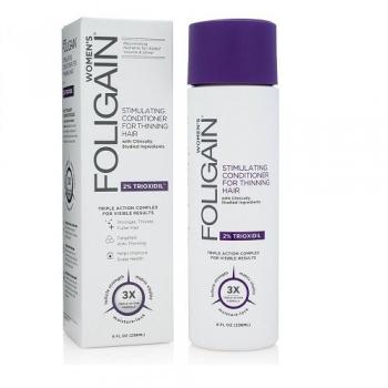 Foligain Hair Regrowth Conditioner Plaukų augimą skatinantis kondicionierius moterims su 2% Trioksidiliu