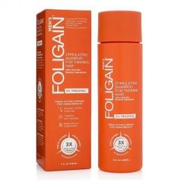 Foligain Hair Regrowth Shampoo Plaukų augimą skatinantis šampūnas vyrams su 2% Trioksidiliu