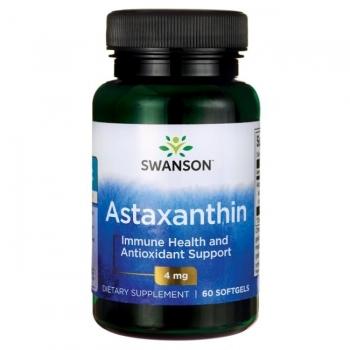Swanson Astaxanthin 4 MG maisto papildas