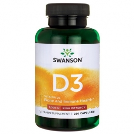 SWANSON VITAMINAS D3 1000TV N250