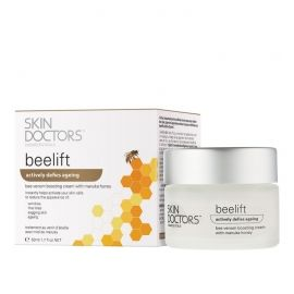 Skin Doctors Beelift jauninantis veido kremas su bičių nuodais ir manuka medumi