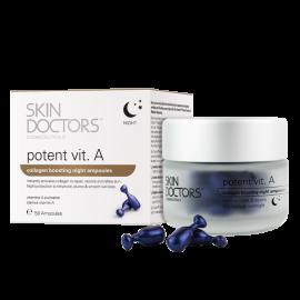 Skin Doctors Vitamin A stipraus poveikio serumo ampulės nakčiai