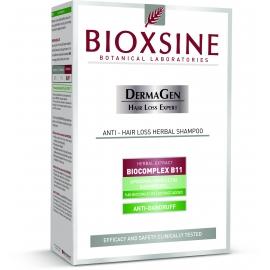 BIOXSINE šampūnas nuo pleiskanų (stabdo plaukų slinkimą)