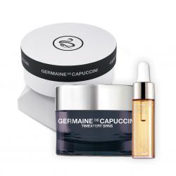Germaine de Capuccini TIMEXPERT SRNS Kalėdinis rinkinys ALL SIDES OF BEAUTY nuo odos senėjimo (dieninis kremas ir eliksyras)