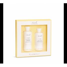 KEUNE VITAL NUTRITION RINKINYS SAUSŲ PLAUKŲ PRIEŽIŪRAI (šampūnas ir kondicionierius)