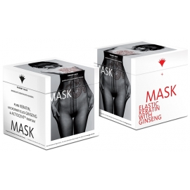Kaukė plaukams Trendy Hair Maskelastic TH13008 su grynu keratinu ir ženšeniu, suteikianti elastingumo, 500 ml