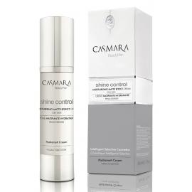 Drėkinamasis veido odos kremas Casmara Matte Effect Cream CASA00101V, suteikia matinę išvaizdą, skirtas riebiai odai, 50 ml