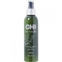 CHI Blow Dry Primer apsauginis losjonas plaukams su arbatmedžiu
