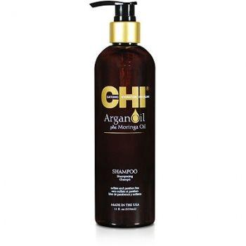 CHI šampūnas su argano ir moringų aliejumi
