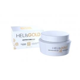 Atstatomoji kaukė plaukams Heli's Gold Restructure Masque HELA520012D, skirta sausiems ir pažeistiems plaukams, 250 ml