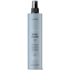 Apimties plaukams suteikianti dulksna Lakme Teknia Body Maker Mist LAK44653, ploniems ir silpniems plaukams, 300 ml
