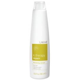 Atstatantis šampūnas Lakme K.Therapy Repair sausiems plaukams LAK43412, 300 ml