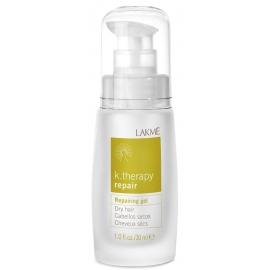 Atstatomasis gelis Lakme K.Therapy Repair Gel sausiems plaukams LAK43432, 30 ml