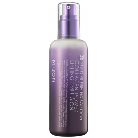 Emulsija veidui Mizon Collagen Power Lifting Emulsion MIZ000002468, stangrinamoji bei su kolagenu, 120 ml