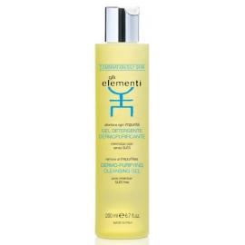 Veido odą valantis prausimosi gelis Gli Elementi Dermo - Purifying Cleansing Gel GLI01052, 200 ml