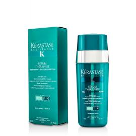 Kerastase Dvigubo poveikio pažeistų plaukų serumas Kerastase Resistance Serum Therapiste Dual Treatment 30 ml