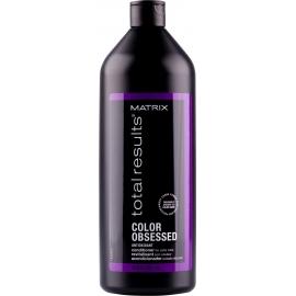 Matrix Apsaugantis plaukų spalvą kondicionierius Matrix Total Results Color Obsessed Conditioner 1000 ml