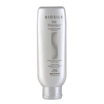 BIOSILKSilk Therapy Thickening creme plaukų apimtį didinantis kremas