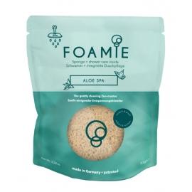 Kempinė su putojančiu prausikliu Foamie Sponge + Shower Care Inside Aloe Spa FMPCAS1002