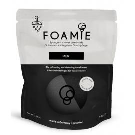 Kempinė su putojančiu prausikliu Foamie Sponge + Shower Care Inside MEN FMPCMV1002